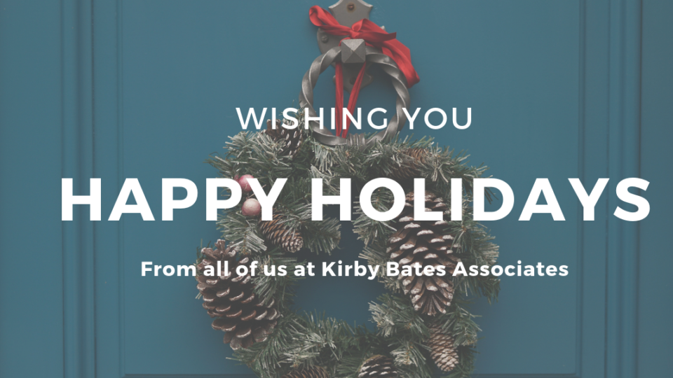Happy Holidays from Kirby Bates!