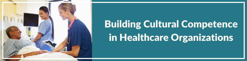 Building  Cultural Competence in Healthcare Organizations