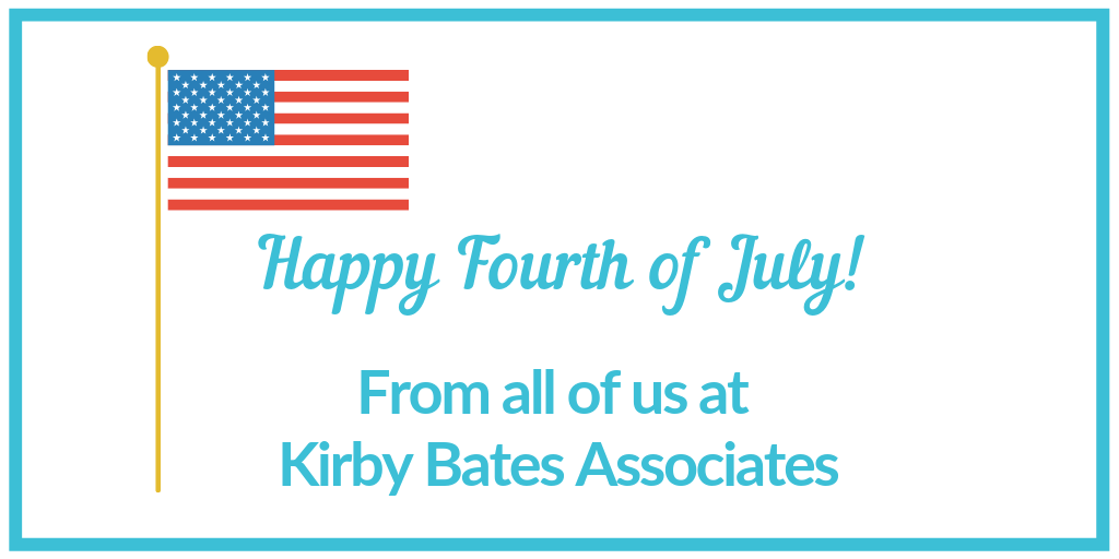 Happy Fourth of July from Kirby Bates Associates! Honoring Linda Richards.