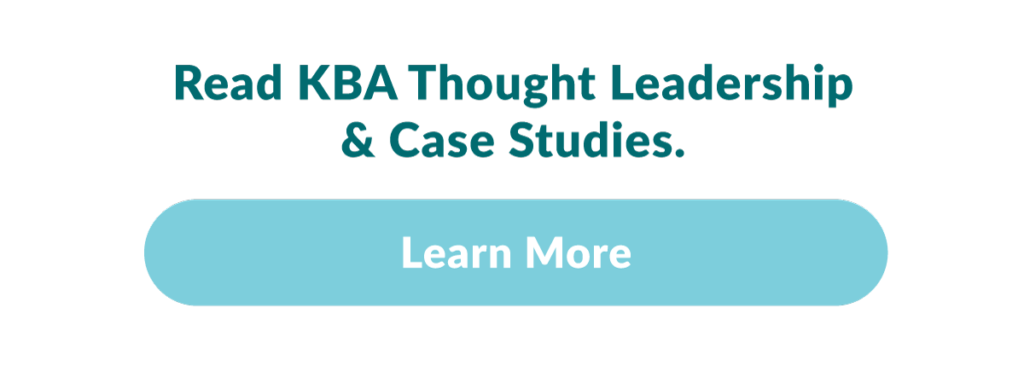 Kirby Bates Associates Thought Leadership & Case Studies button