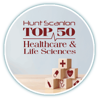 Hunt Scanlon Top 50 Healthcare Search Firm