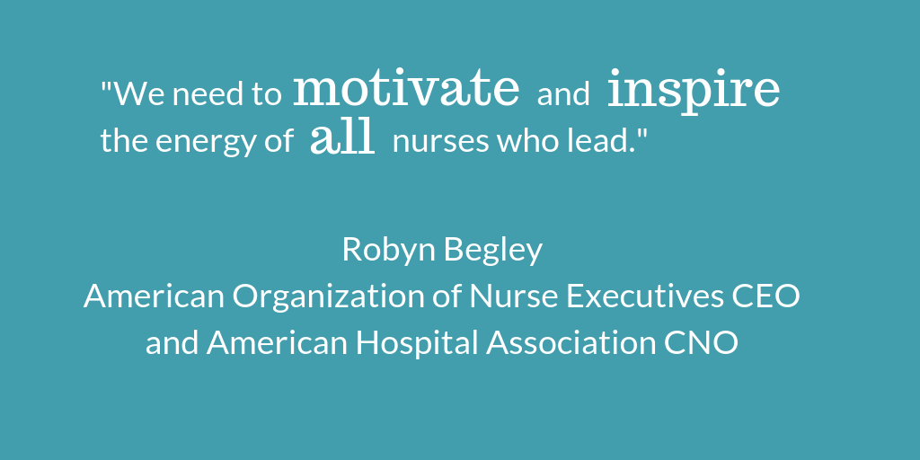 Motivate and inspire through nursing.