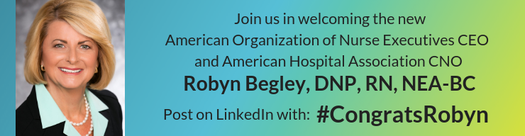 Congratulations to Robyn Begley, DNP, RN!